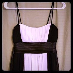 Cocktail dress black & white